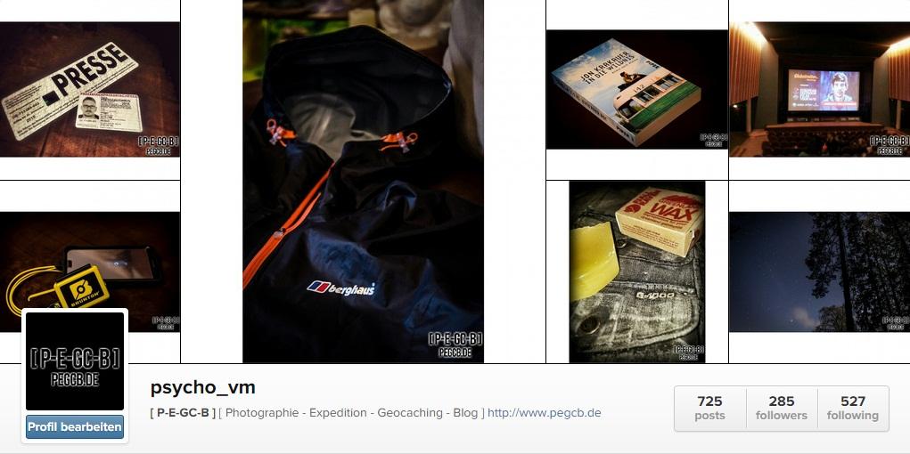 [ BLOG ] BLOGUPDATE – [ P-E-GC-B ] nun auch auf Instagram