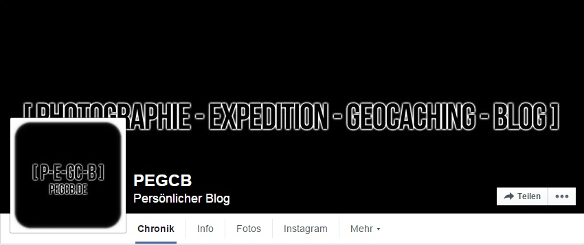 [ BLOG ] BLOGUPDATE – [ P-E-GC-B ] nun auch bei Facebook
