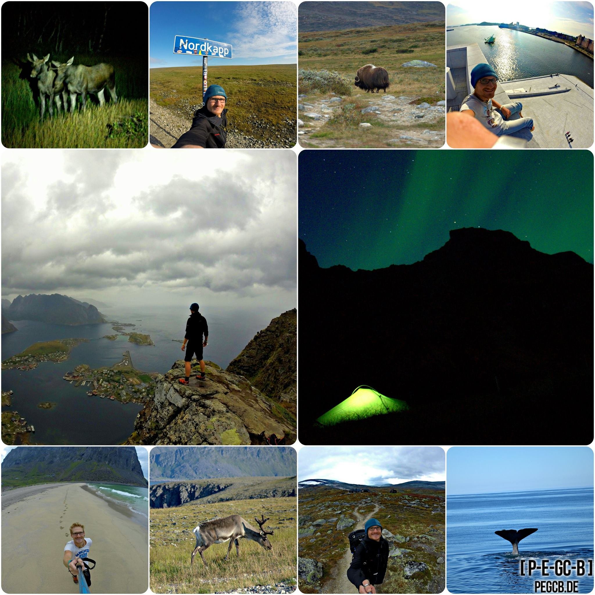 [ Geocaching ] GCNordkap – Mit dem Auto zum Nordkap – Trailer