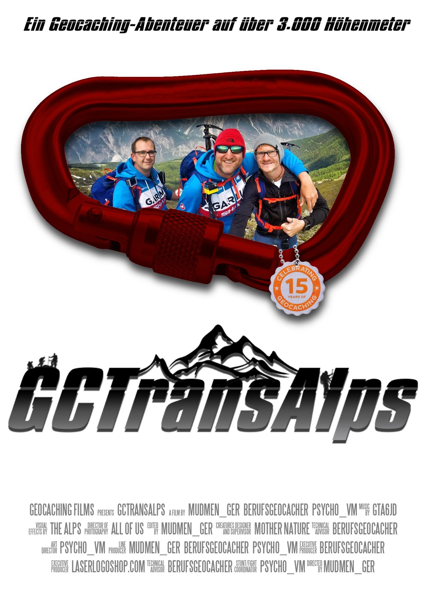 [GCTransAlps] Der multimedia Vortrag – Tickets